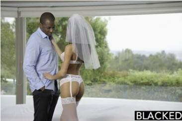 Chloe Amour - white bride roleplay fuck
