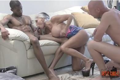 Interracial cuckold sex - Sally Dangelo