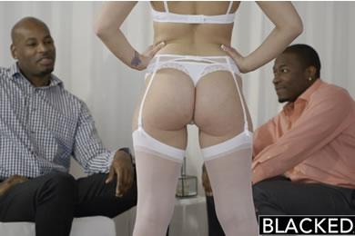 Interracial sex - Dakota James