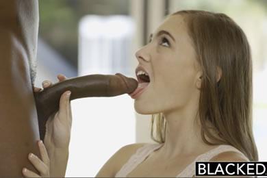 Interracial sex - Sky West