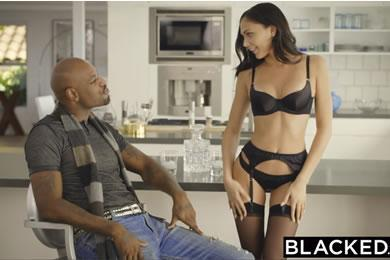 Interracial sex - Ariana Marie