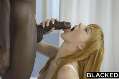 Interracial sex - Anny Aurora