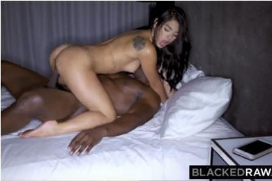Interracial sex - Gina Valentina
